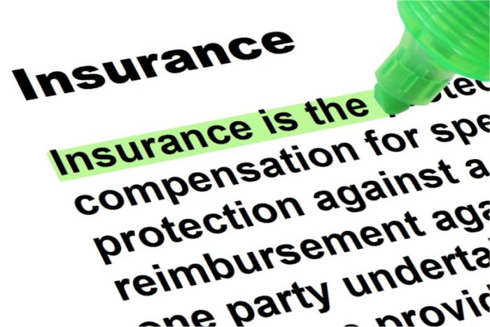 What is the difference between indemnity insurance and non-indemnity insurance?