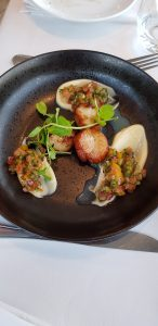 Scallops at Harbour House